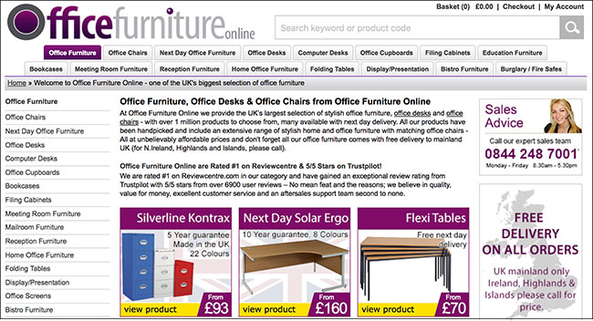 sale for 35m agreed for uk office furniture retailer