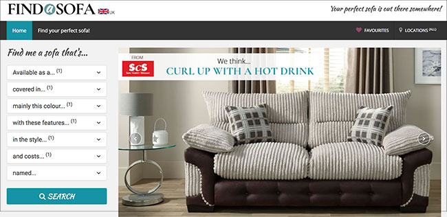An Entrepreneur With Experience Working With DFS And Bensons Has Launched  FindASofa.com, Which Aims To Help Consumers Find And Compare Upholstery  From All ...
